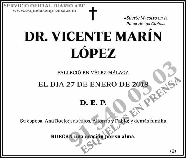 Vicente Marín López
